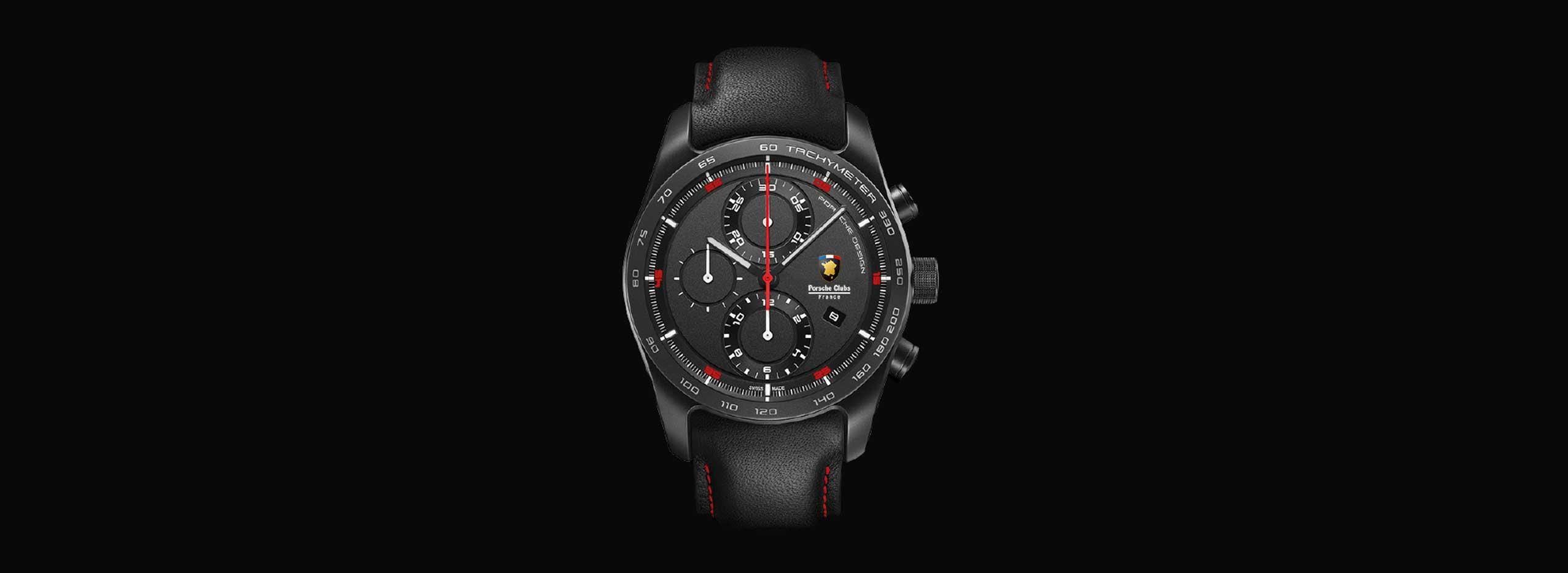 montre édition limitée porsche design timepieces fédération club porsche France